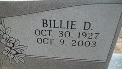 Billie D. Bailey