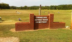 Cornelius Asphalt Rock Cemetery