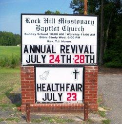 Rock Hill Missionary Baptist Church Cemetery