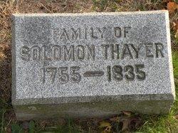 Solomon Alden Thayer, Sr