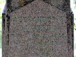 Alexander Thomas Davidson