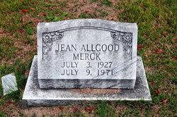 Martha Jean <i>Allgood</i> Merck