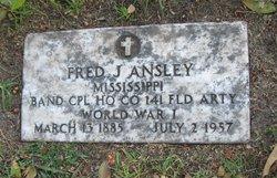 Fred Jackson Ansley