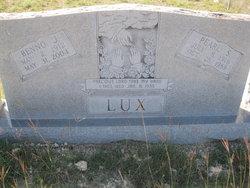 Benno Joseph Lux, Sr
