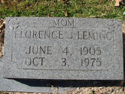 Florence Josephine <i>Walker</i> Leming