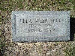 Ella <i>Webb</i> Hill