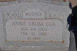 Annie <i>Cross</i> Cox