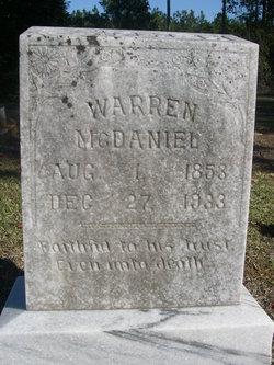 Warren C McDaniel