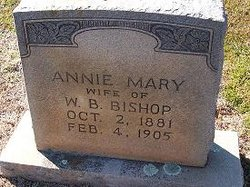 Annie Mary <i>O'Shields</i> Bishop