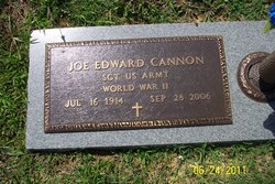 Joseph Edward Joe Cannon