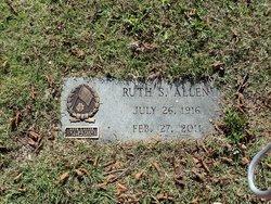 Ruth S Allen