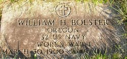 William H Bolster