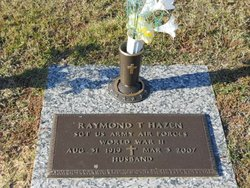 Raymond Thomas Ray Hazen