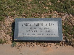 Verda <i>Shelby</i> Allen