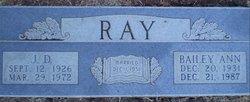 J D Ray