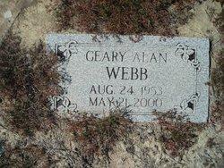 Geary Alan Webb