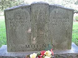 Thomas Edward T.E. Mounts