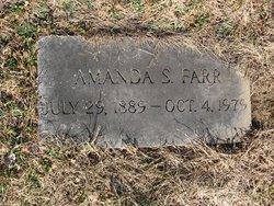 Amanda S <i>Harriman</i> Farr