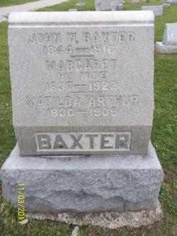 Matilda <i>Baxter</i> Arthur