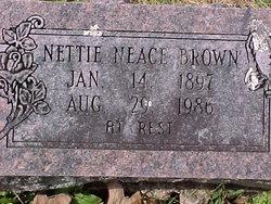 Nettie <i>Neace</i> Brown