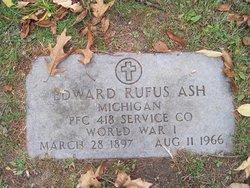 Edward Rufus Ash