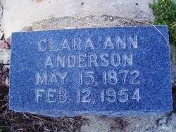 Clara Ann Anderson