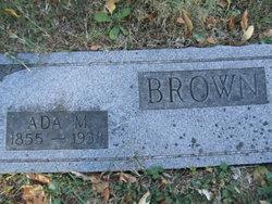 Ada M. <i>Winters</i> Brown