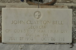 Corp John Clayton Bell