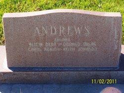Alice Malina <i>Johnson</i> Andrews