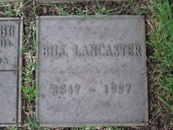 William Henry Bill Lancaster