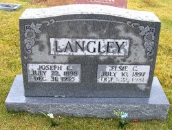 Elsie Cordelia <i>Lichte</i> Langley