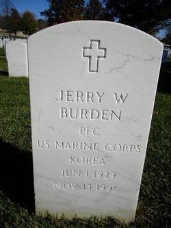 Jerry W Burden