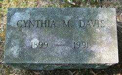 Cynthia <i>Marvin</i> Davis