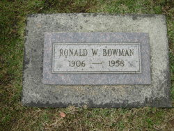 Ronald William Bowman