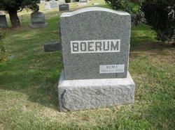 Alma R <i>Clark</i> Boerum