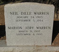 Marion <i>Jory</i> Warren