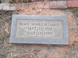 Alma <i>McHugh</i> Amos