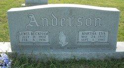 Martha Eva <i>Bell</i> Anderson
