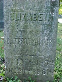 Elizabeth <i>Myers</i> Gifford