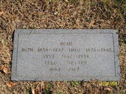 Ruth E <i>Clary</i> Beam
