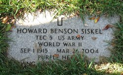 Howard Benson Siskel