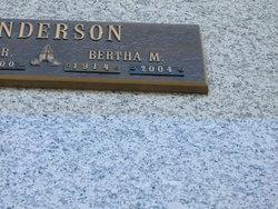 Bertha Bert <i>Pavlicek</i> Anderson