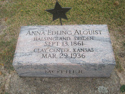 Mrs Anna Edling <i>Olsdotter</i> Alquist