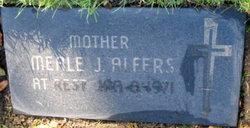 Amelia J. Meale <i>Milos</i> Alfers