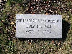 Sue <i>Frederick</i> Featherston