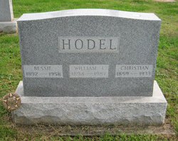 Bessie Orpha <i>Miller</i> Hodel
