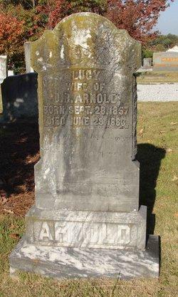 Lucy Elizabeth <i>Adams</i> Arnold