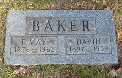 Florence May <i>Maudlin</i> Baker