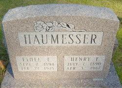 Ethel E. <i>Hollenback</i> Haumesser