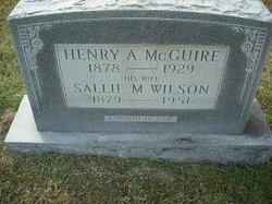 Sallie M. <i>Wilson</i> McGuire